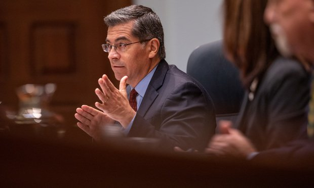 California Attorney General Xavier Becerra (Photo: Jason Doiy/ALM)