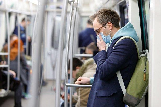 Stock photo: Worker commuting