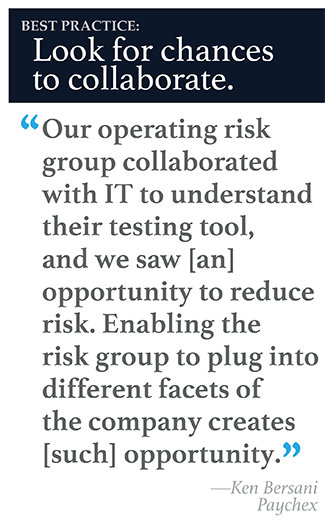 Paychex-best-practice Collaborative Risk Analysis Finds Big Benefits in RPA