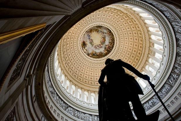 U.S. Capitol Rotunda, (Photo: Diego M. Radzinschi/ALM)