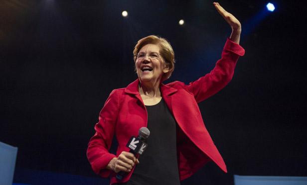 Sen. Elizabeth Warren, D-Mass, presidential candidate