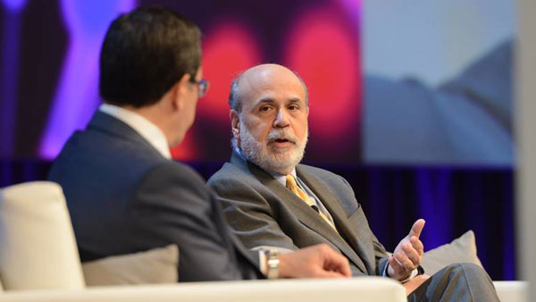 Former Fed Chairman Ben Bernanke.
