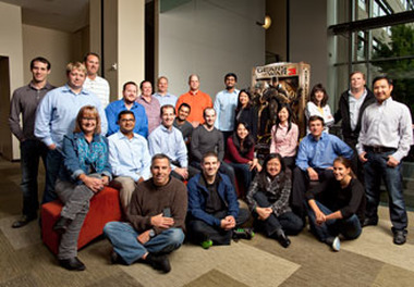 CFO Peter Klein, Treasurer George Zinn and the treasury team