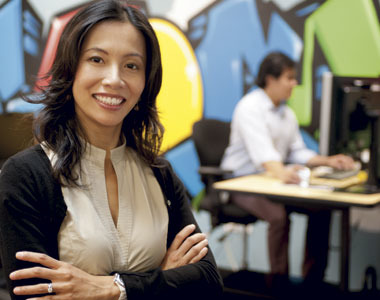 Hui-Chien Chang, director of the portfolio management group at Google