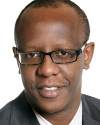 Alfred Kibe of GM