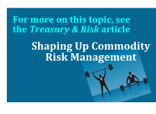 See also: Shaping Up Commodity Risk Management