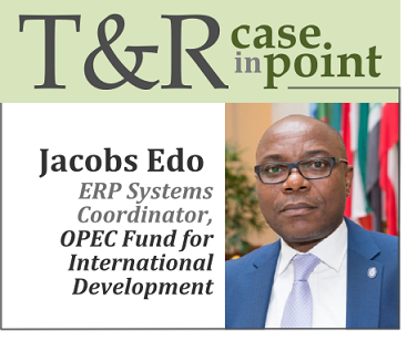 Case study: Jacobs Edo, ERP systems coordinator for the OPEC Fund for International Development