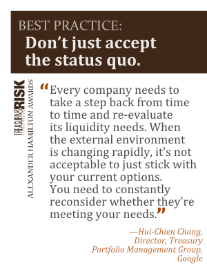 Best Practice: Don't just accept the status quo.