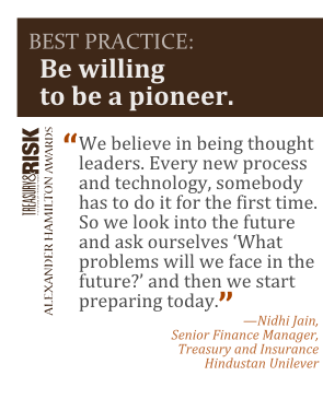 Best practice: Be willing to be a pioneer.