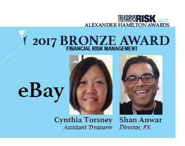 2017 Alexander Hamilton Bronze Award in Financial Risk Management: eBay