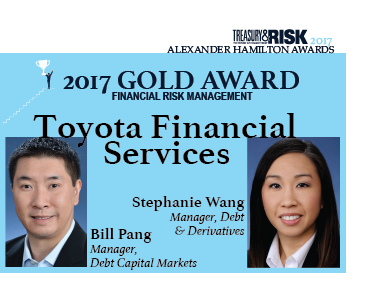 2017 Alexander Hamilton Gold Award in Financial Risk Management: Toyota Financial Services