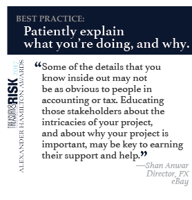 Best practice: Patiently explain what you're doing, and why.