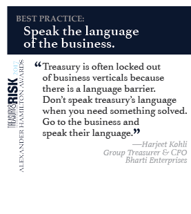 Best practice: Speak the language of the business.