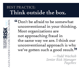 Best practice: Think outside the box.