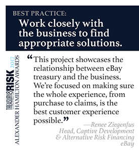 Best practice: Work closely with the business to find appropriate solutions.