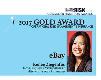2017 Alexander Hamilton Gold Award in Operational Risk Management & Insurance: eBay